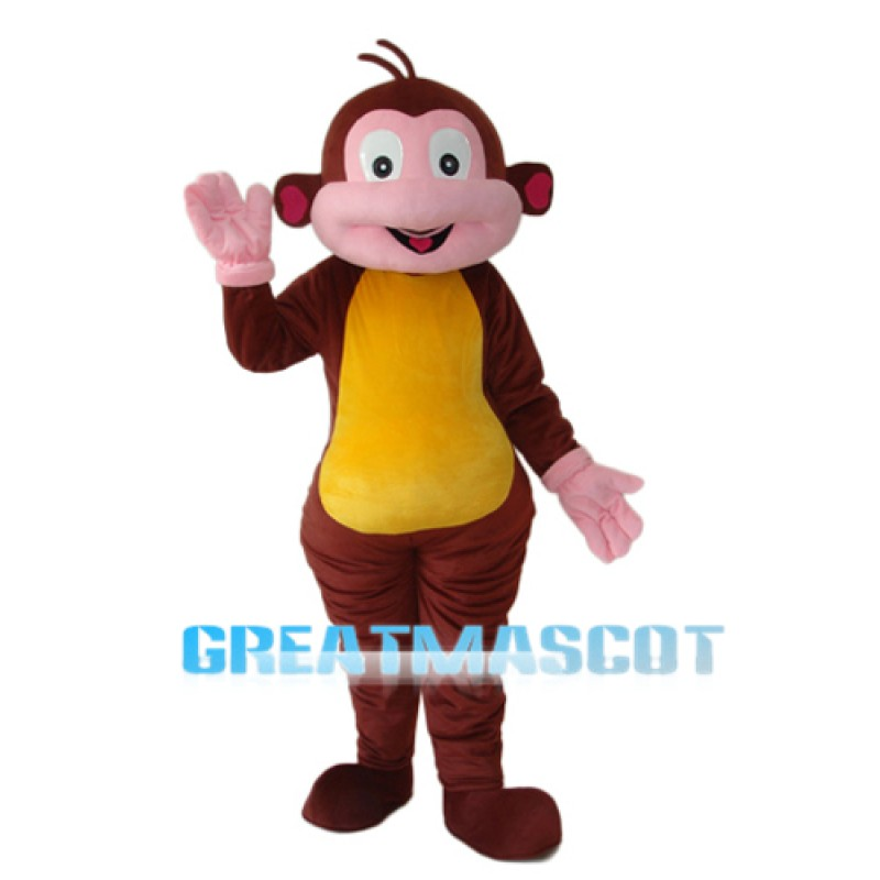 Boots Monkey Mascot Adult Costume Free Shipping