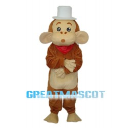 Cap Monkey Mascot Adult Costume Free Shipping
