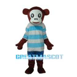Leisure Version Mr.Jump Monkey Mascot Adult Costume Free Shipping