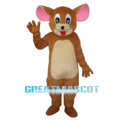 Little Head Jerry Rat Mascot Adult Costume Free Shipping