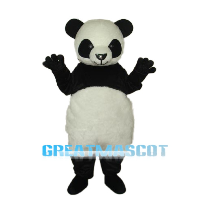 7th Version of The Giant Panda Mascot Adult Costume Free Shipping