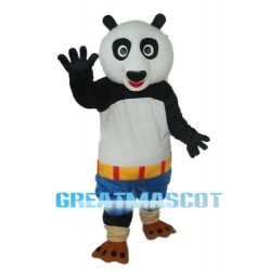 Kung Fu Panda Blue Shorts Mascot Adult Costume Free Shipping