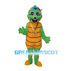 Golden Pig Mascot Adult Costume Free Shipping