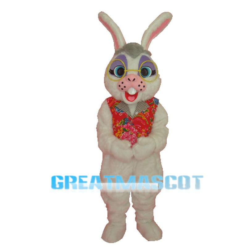 Obama Rabbit Adult Mascot Costume Free Shipping