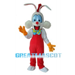 Roger Rabbit Mascot Adult Costume Free Shipping