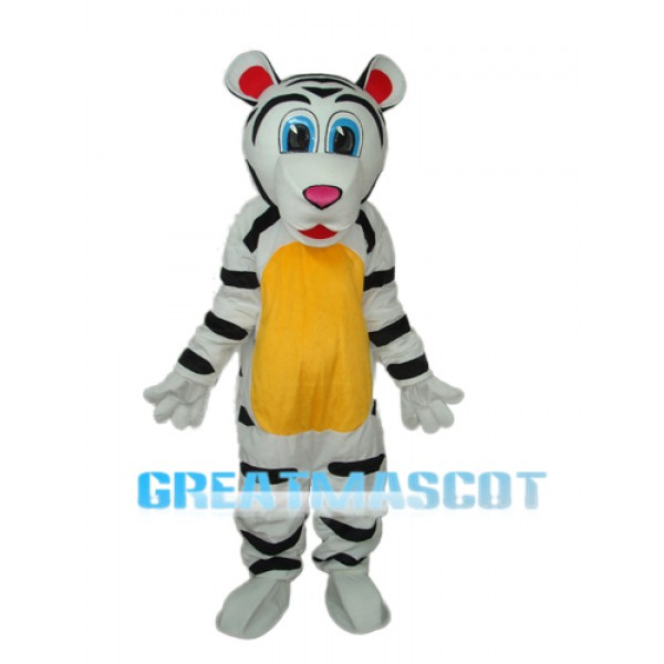 Colorful Tiger Mascot Adult Costume Free Shipping