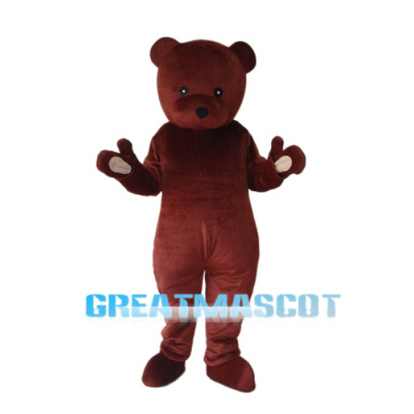 Cook Brown Bear Mascot Adult Costume Free Shipping