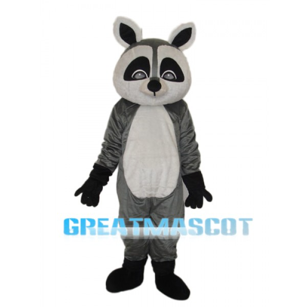 Flat Face Small Raccoon Mascot Adult Costume Free Shipping