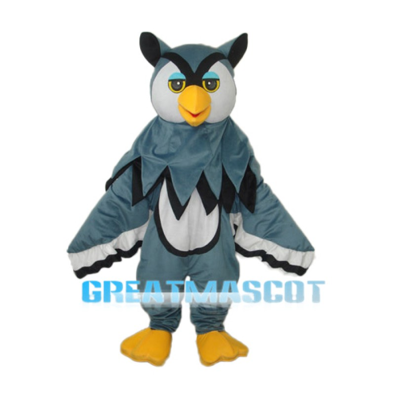 Little Gray Eagle Mascot Adult Costume Free Shipping