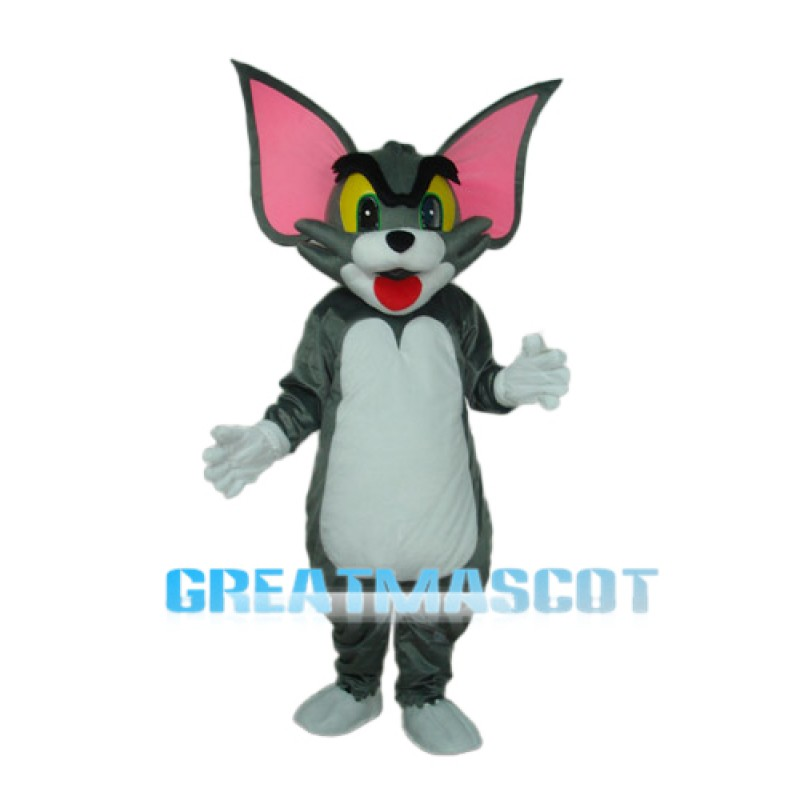 Tom Cat Mascot Adult Costume Free Shipping