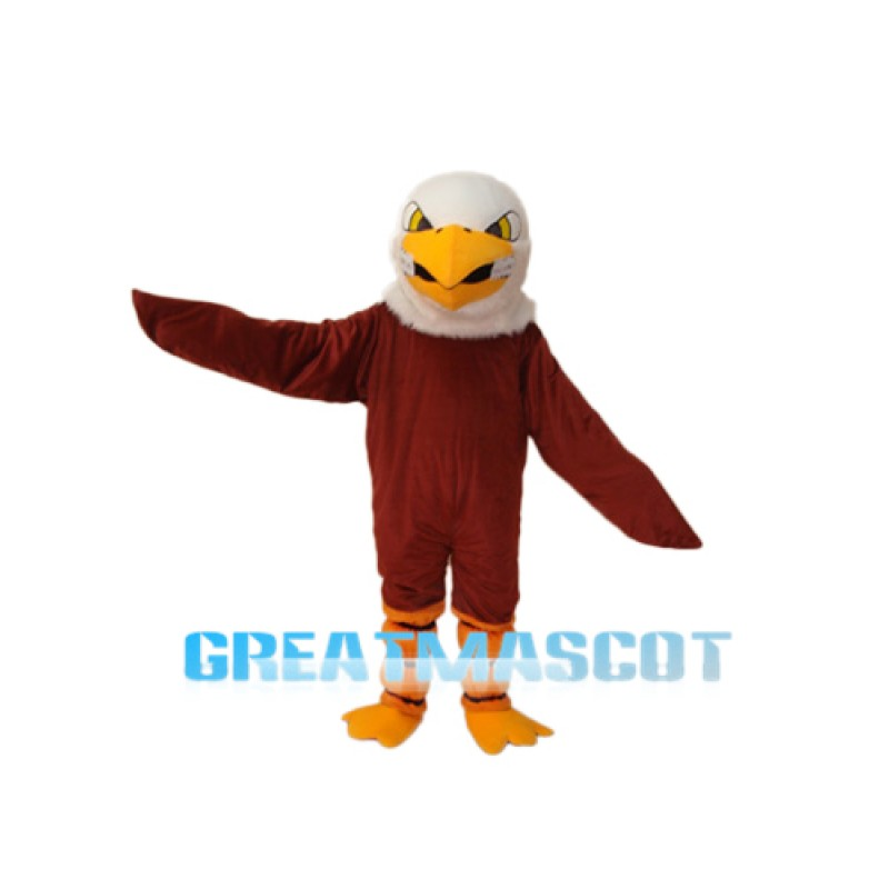 Brown Eagle Mascot Adult Costume Free Shipping
