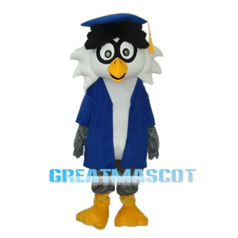 Dr. Owl Mascot Adult Costume Free Shipping