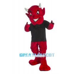Cute Devil Mascot Costume