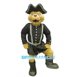 Cannoneer Cat Mascot Costume