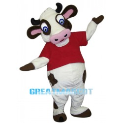 High Quality Cow Mascot Costume