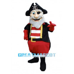 Old Pirate Mascot Costume