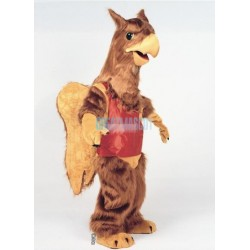 Griff Griffin Owl Mascot Costume