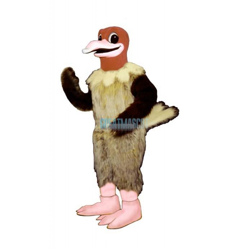 Billy Buzzard Mascot Costume