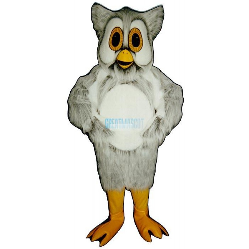 Spotted Owl Mascot Costume