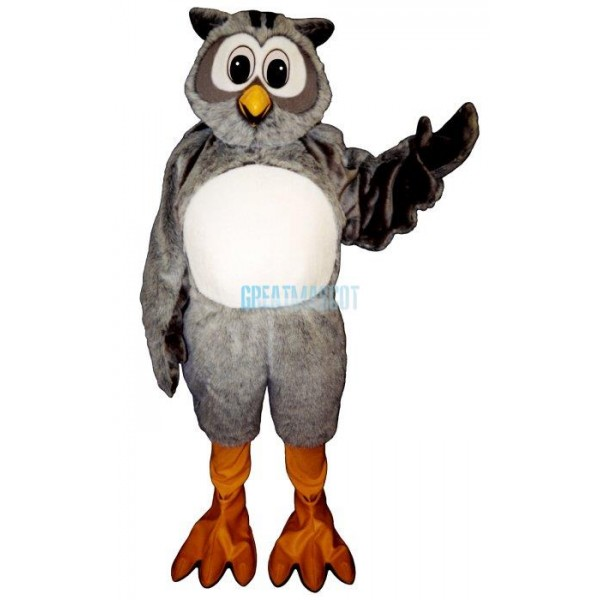 Mr. Owl Mascot Costume