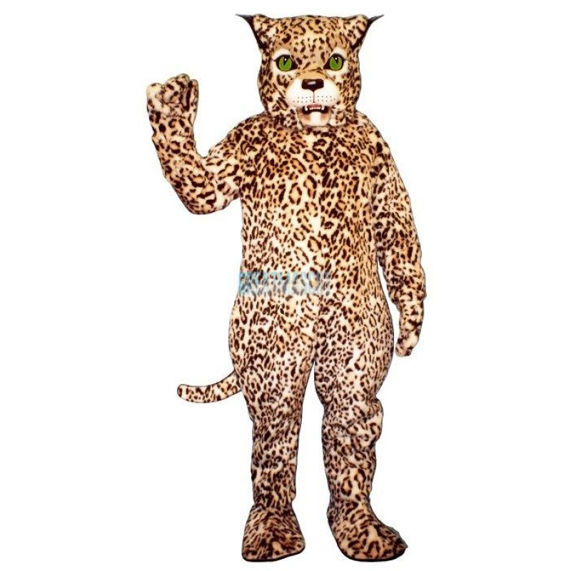 Spotted Lynx Leopard Mascot Costume