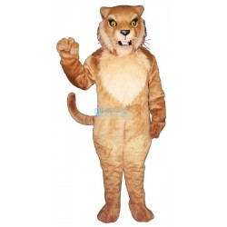 Snarling Wildcat Mascot Costume