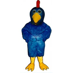 Dumb Cluck Chicken Mascot Costume