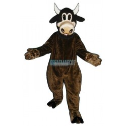 Clover Cow Mascot Costume