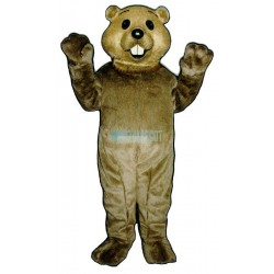 Cute Groundhog Mascot Costume