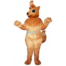 Girly Squirrel Mascot Costume