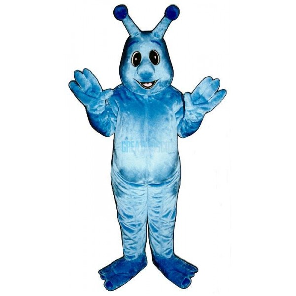 Blue Monster Mascot Costume