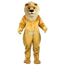 Sleepy Lion Mascot Costume