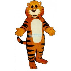 Cat's Meow Tiger Mascot Costume