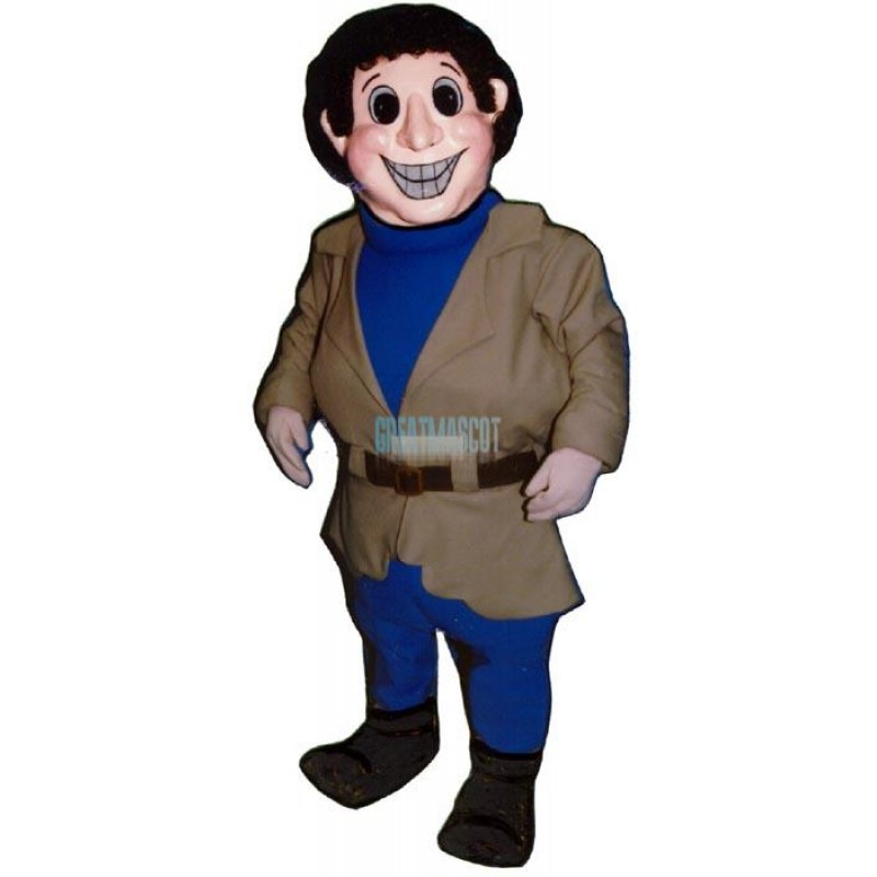 Happy Hank Mascot Costume