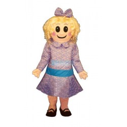 Satin Doll Mascot Costume