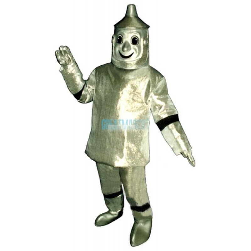 Tin Man Mascot Costume