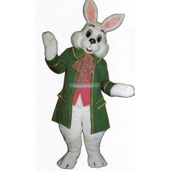 Wendell Rabbit-Green Mascot Costume