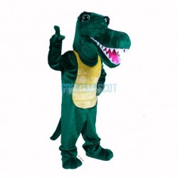 Cute Gator Mascot Costume
