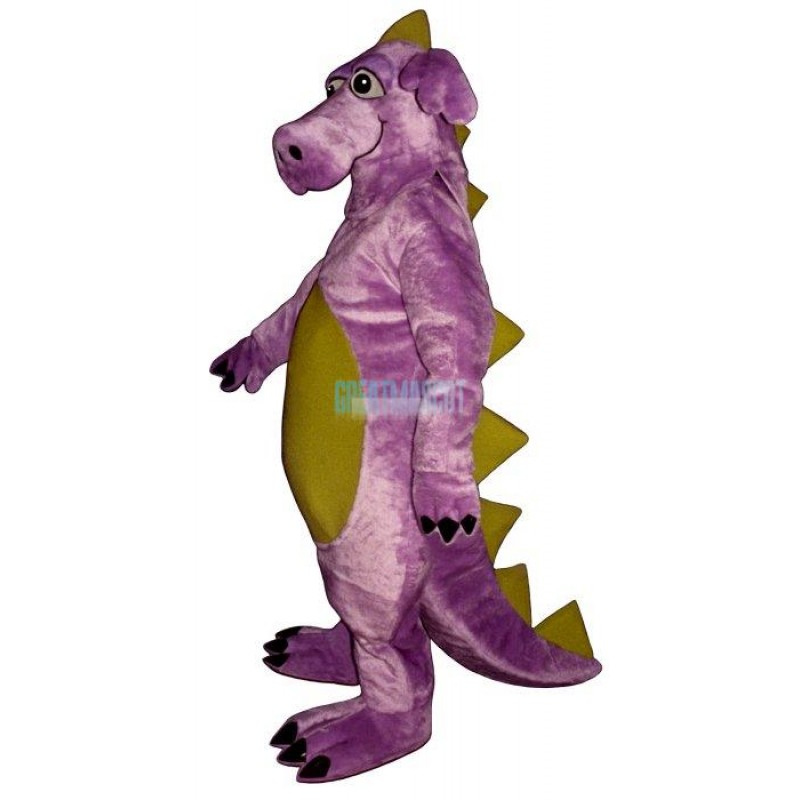 Purple Whimsical Dragon Mascot Costume