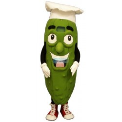 Pickled Chef Mascot Costume