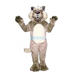 Growling Wolf Mascot Costume