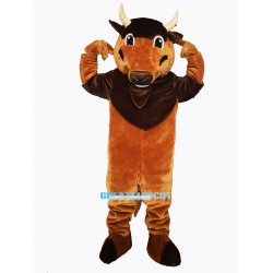 Buddy Buffalo Mascot Costume Free Shipping