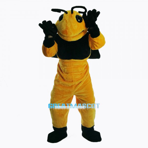 New Power Hornet Mascot Costume
