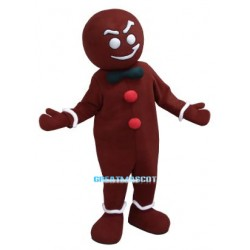 The Gingerbread Man Mascot Costume