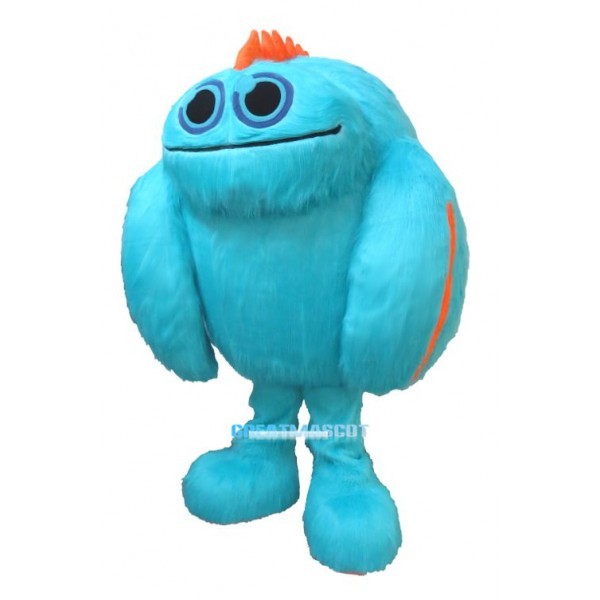 KidCon Blue Monster Mascot Costume