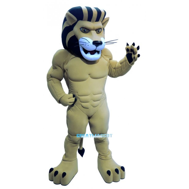 Power Lion Custom Animal Mascot