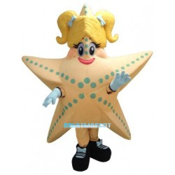 Cute Starfish Mascot Costume