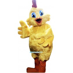 Chick Mascot Costume Adult Costume