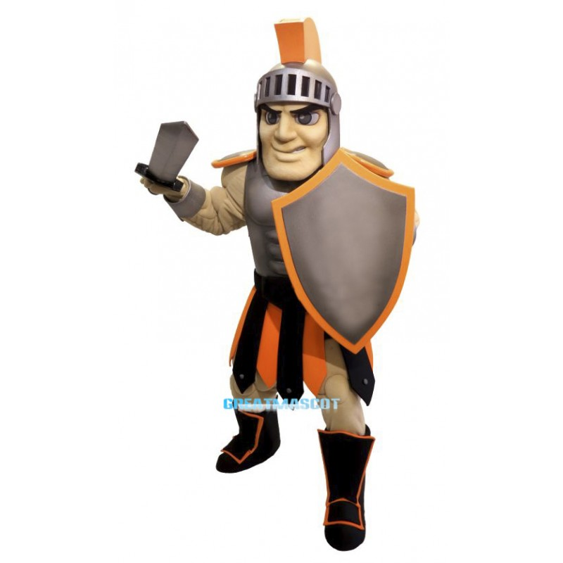 High Quality Warrior Mascot Costume