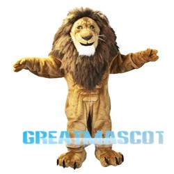 Power Animal Lion Mascot Costume